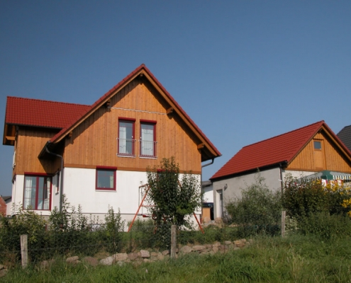 Holz-Putzfassade - Baumgarten