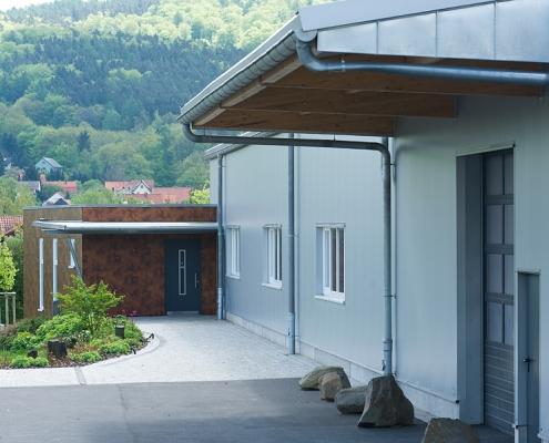 Hallenerweiterung - Baumgarten