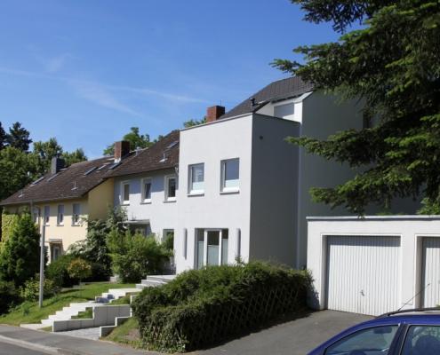 Erweiterung Reihenendhaus - Baumgarten