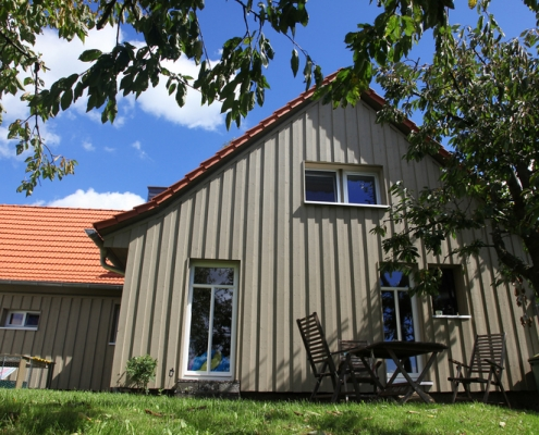 Anbau Wohnhaus an denkmalgeschütztes Gebäude - Baumgarten