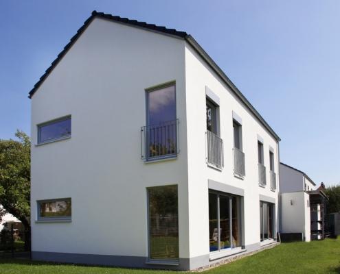 Elegantes Doppelhaus - Baumgarten
